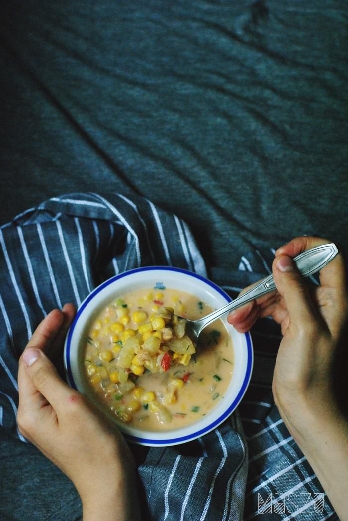 zupa z masłem orzechowym