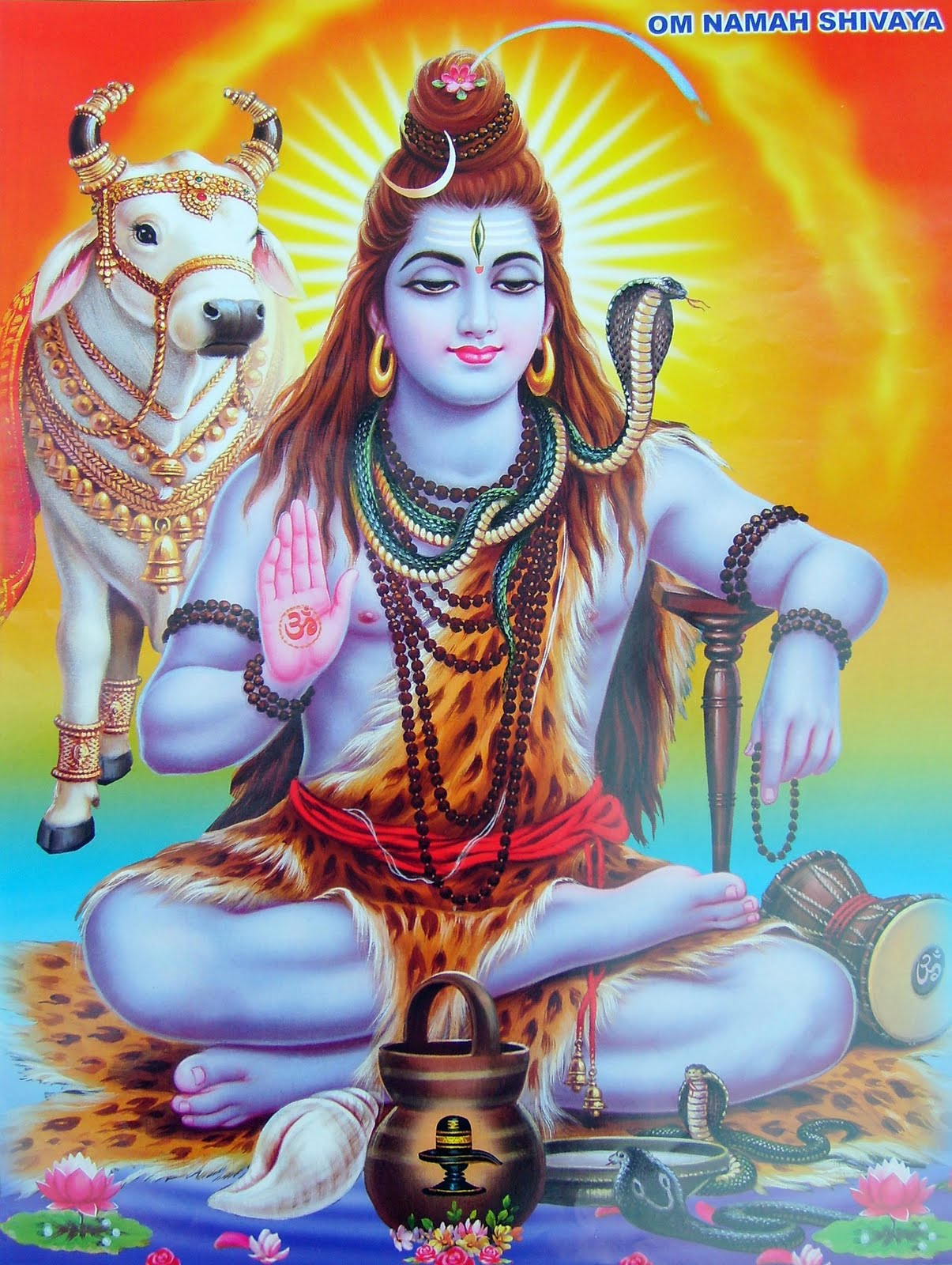 hindu names of lord shiva