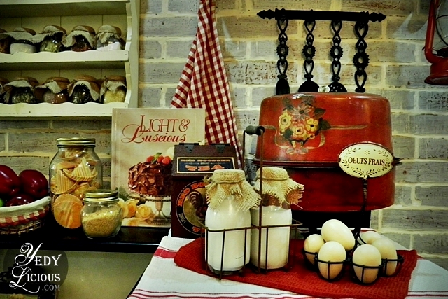 Vintage Kitchen Decor at Karen's Kitchen Pasig