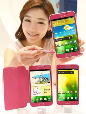 Iniziate le vendite in Corea del Galaxy Note Rosa