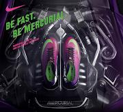 Chuteira Nike Mercurial Vapor IX Roxa/Rosa (chuteiras nike mercurial vapor ix roxo rosa )