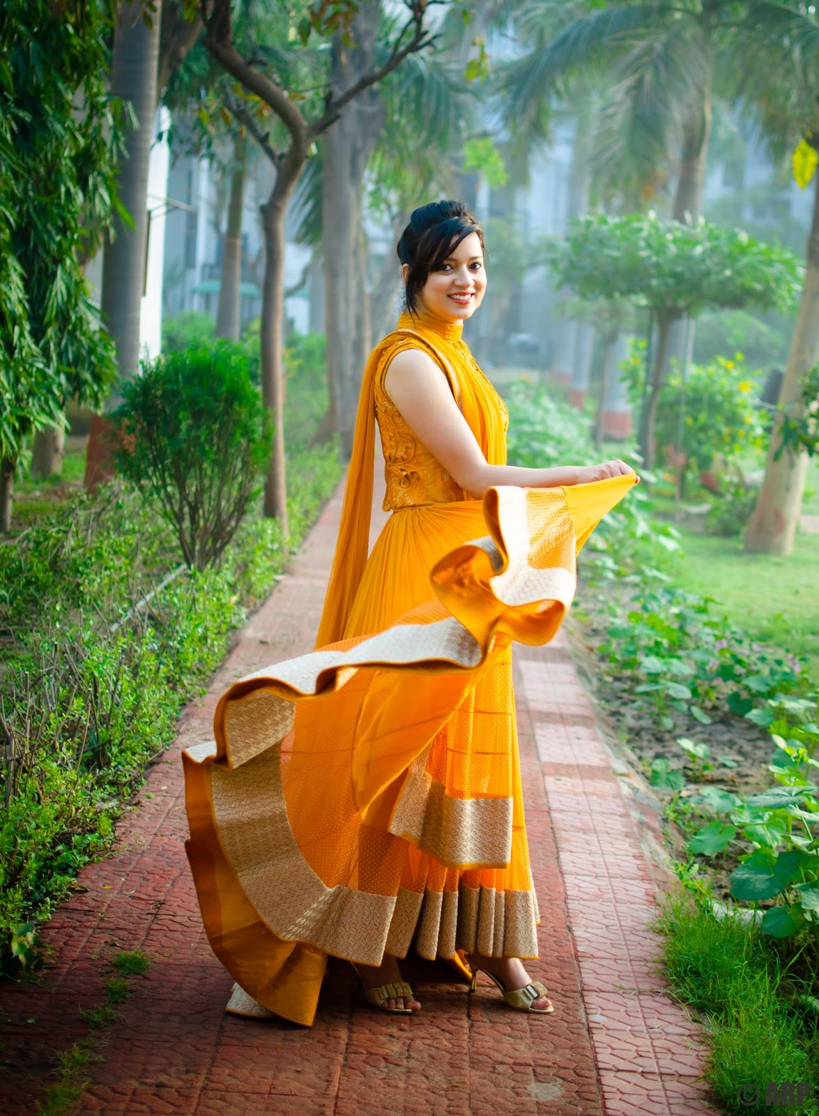 OOTD: Chic Anarkali by Soltee