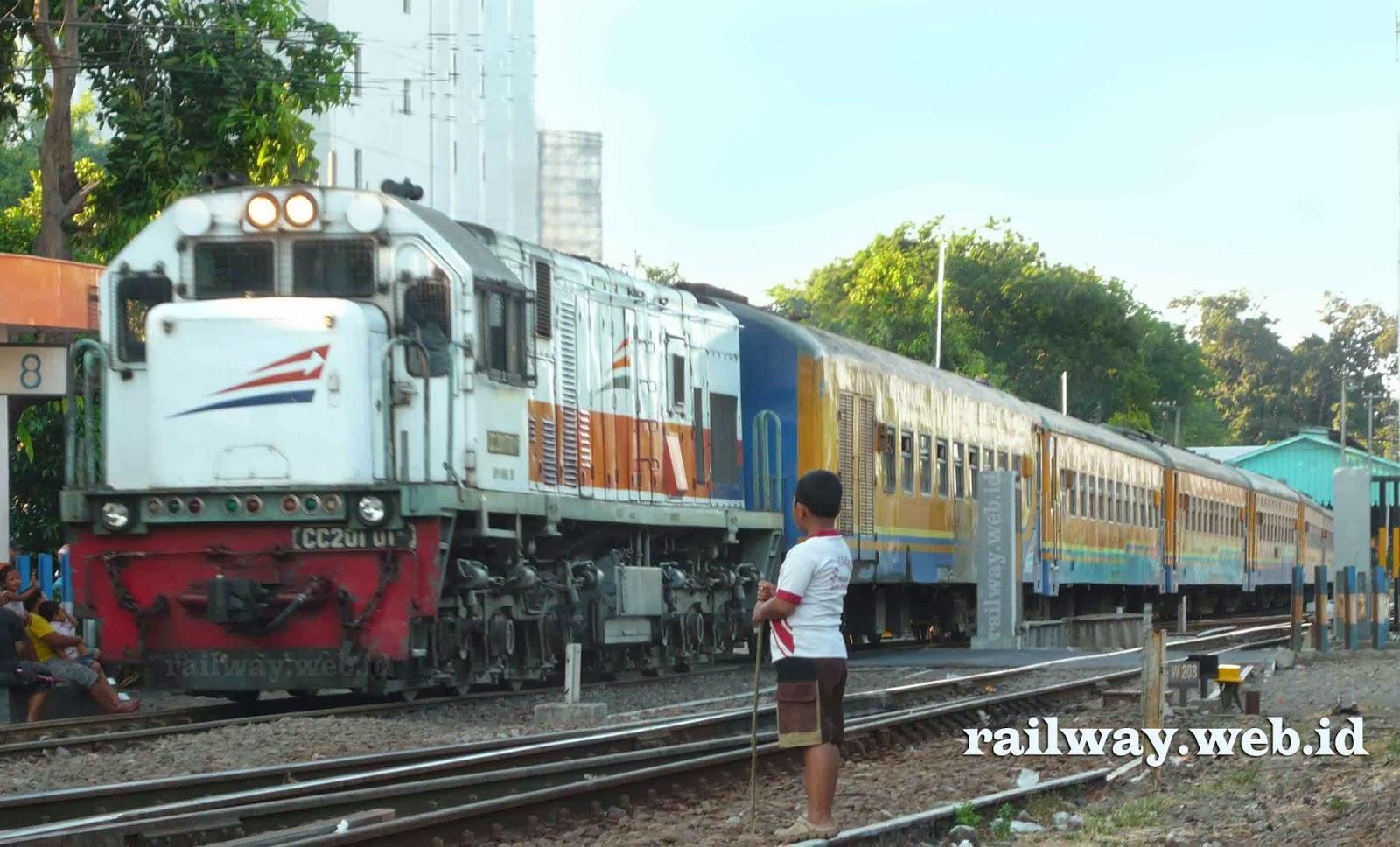 gambar kereta api tumapel