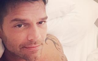 Ricky Martin fisico