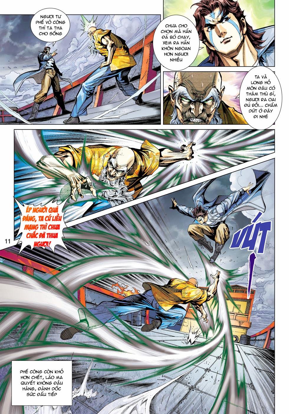 Tân Tác Long Hổ Môn chap 445 - Trang 11