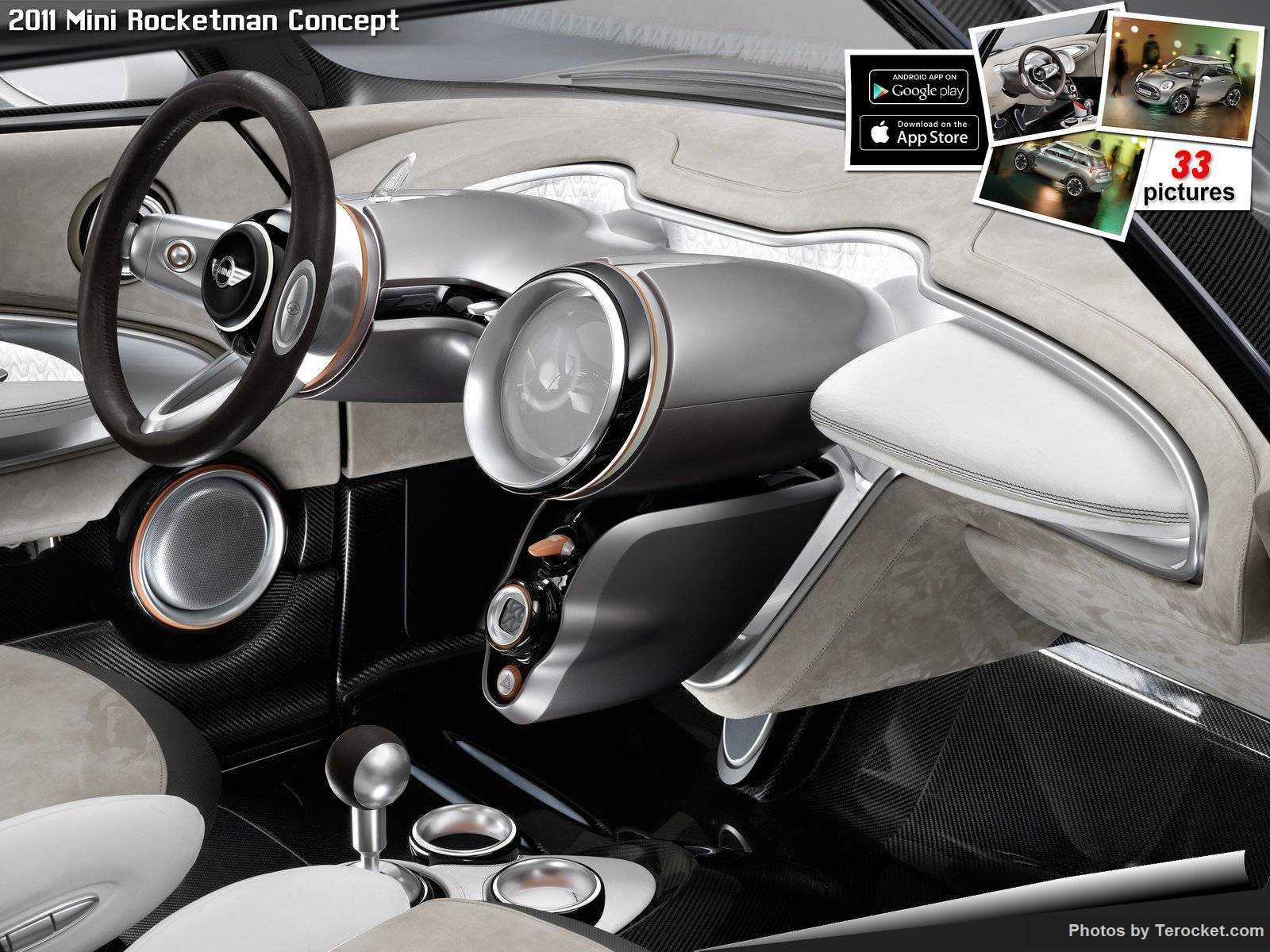 Hình ảnh xe ô tô Mini Rocketman Concept 2011 & nội ngoại thất