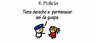 Los 5 mejores empleos para conocer chicas - Policia