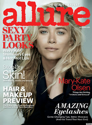 Magazine Love: The Olsen Twins Mary-Kate and Ashley Grace Allure Magazine in Separate Covers!