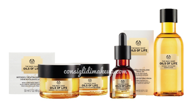 Preview: linea per il viso Oils of Life - The Body Shop