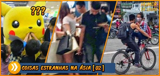 Coisas estranhas que você só encontra na Ásia [Parte 02]