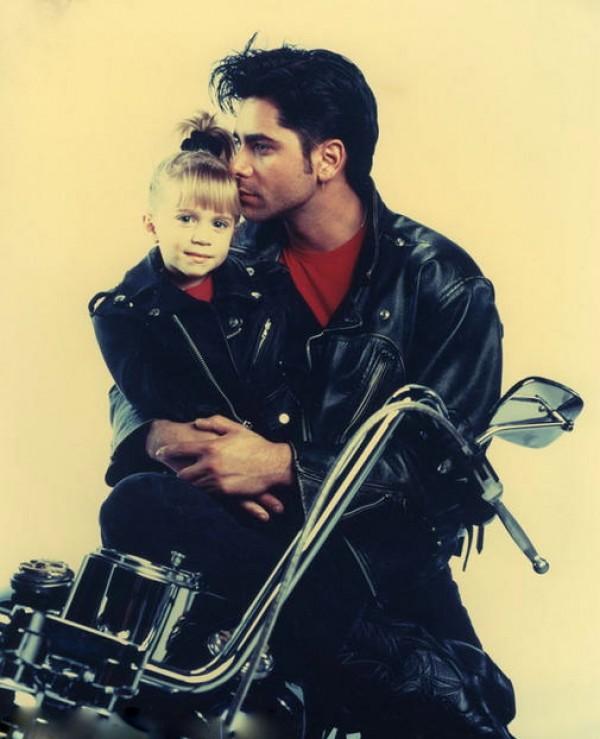 Tio Jesse com Michelle