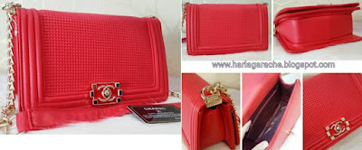Chanel Cube Red Chanel Cube Super 25x10x15