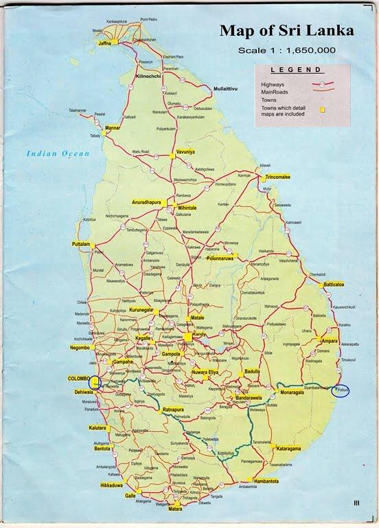Arugambay Colombo to Arugambay Pothuwila map