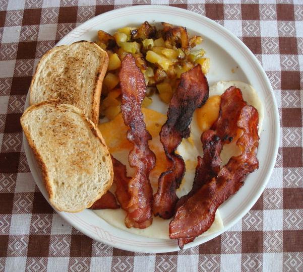 Amato la cucina di Merob: Colazione americana / American brunch (America) GY92
