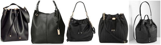 H&M Drawstring Shoulder Bag $20.00 (regular $29.95)  Urban Originals Dressage Shoulder Bag $27.00 (regular $109.00)  Deux Lux Downtown Faux Leather Bucket Bag $39.99 (regular $120.00)  Neiman Marcus Woven Faux Leather Bucket Bag $45.00 (regular $75.00)  Simply Vera Vera Wang Bucket Bag $53.40 (regular $89.00)