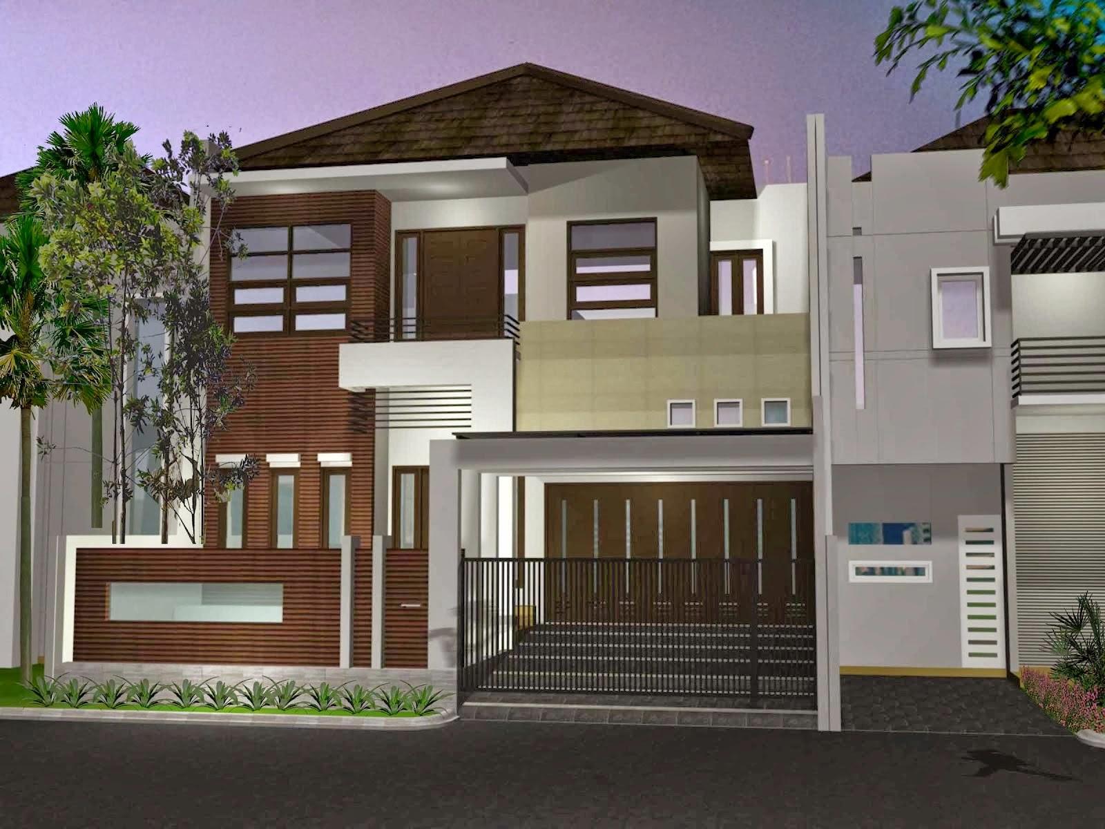 Desain Rumah Berlantai 2 Modern 2014 Desain Properti Indonesia