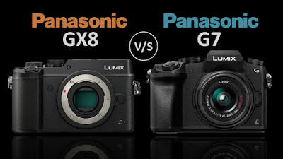 Lumix GX8 dan Lumix G7