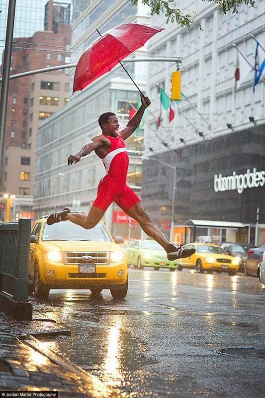 Jordan Matter, Athletes among us, Atletas entre nosotros