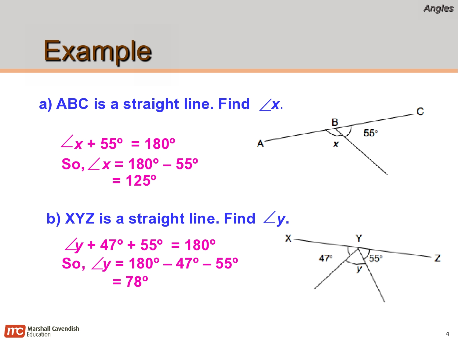 EDP 2013 Primary 6 Fabulous: Math Revision Notes: Angles (Term 3)