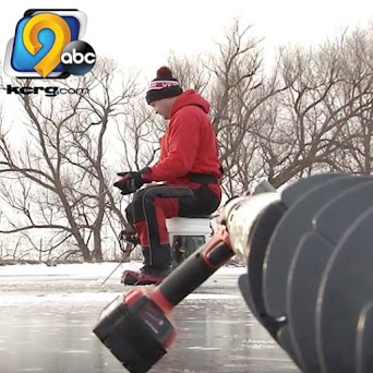 VIDEO: Pond Ice Fishing