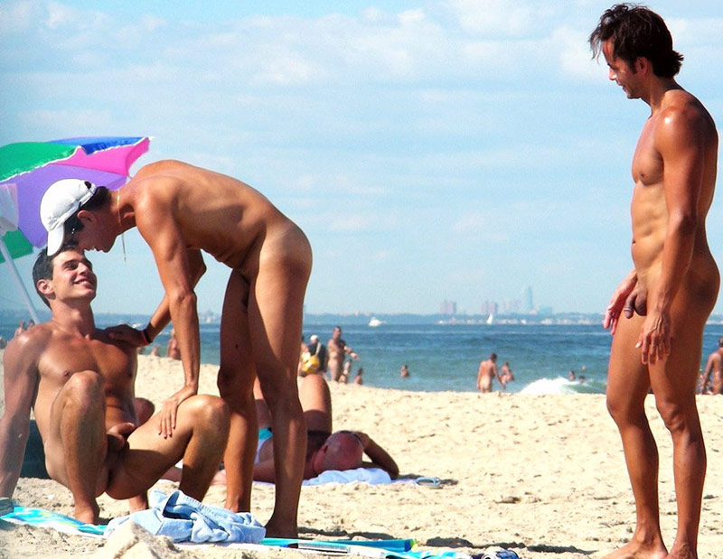 Gay Man in the High Desert: Day at the beach