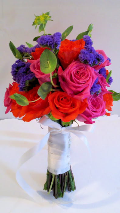August 13th Wedding Bouquet
