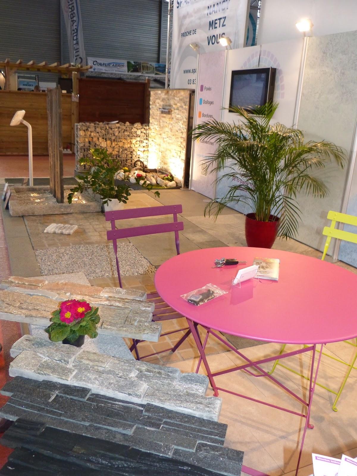 D 39 co granit pierres naturelles le blog retour sur le for Salon de l habitat nancy