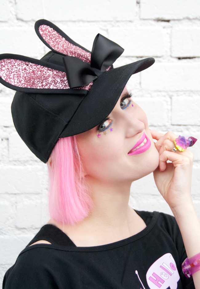 bernstock speirs, bunny cap, made in london