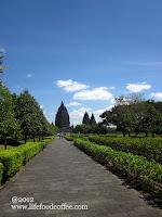 Walkway to the temple, Prambanan Yogyakarta