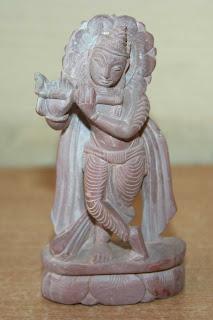 Lord Krishna Stone Statue