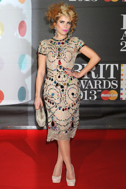 Paloma Faith Brit Awards 2013 outfit