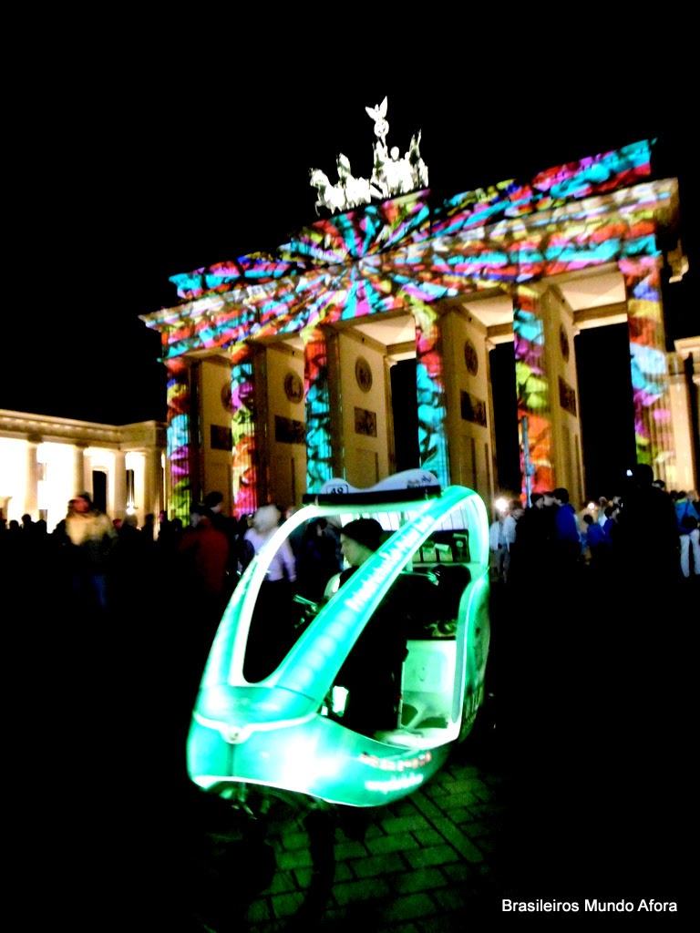 Festival of Lights 2014 - Festival das Luzes 2014 - Berlim