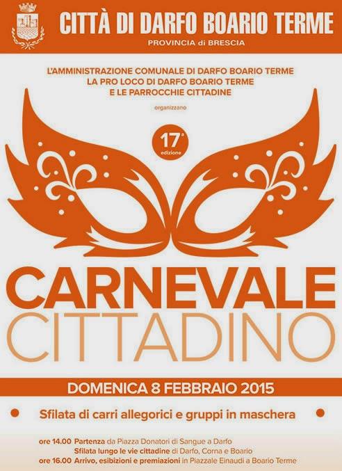 Il Carnevale Cittadino di Darfo Boario Terme 8 Febbraio