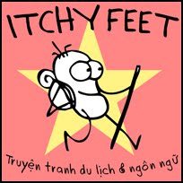 ITCHY FEET in Vietnamese!