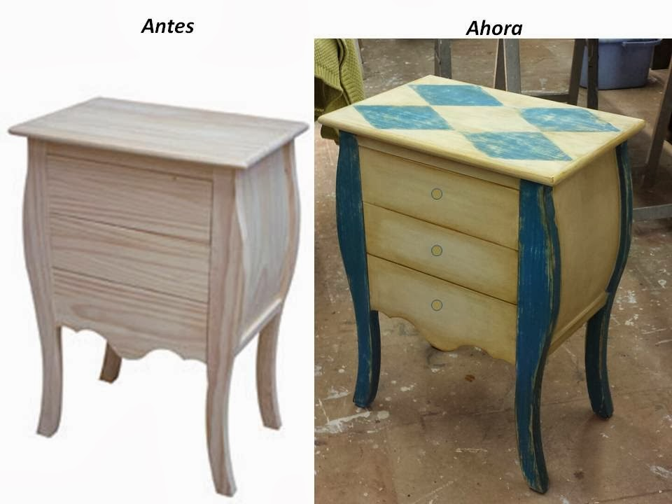 Candini muebles pintados nuevos y redecorados un toque - Restauracion muebles barcelona ...