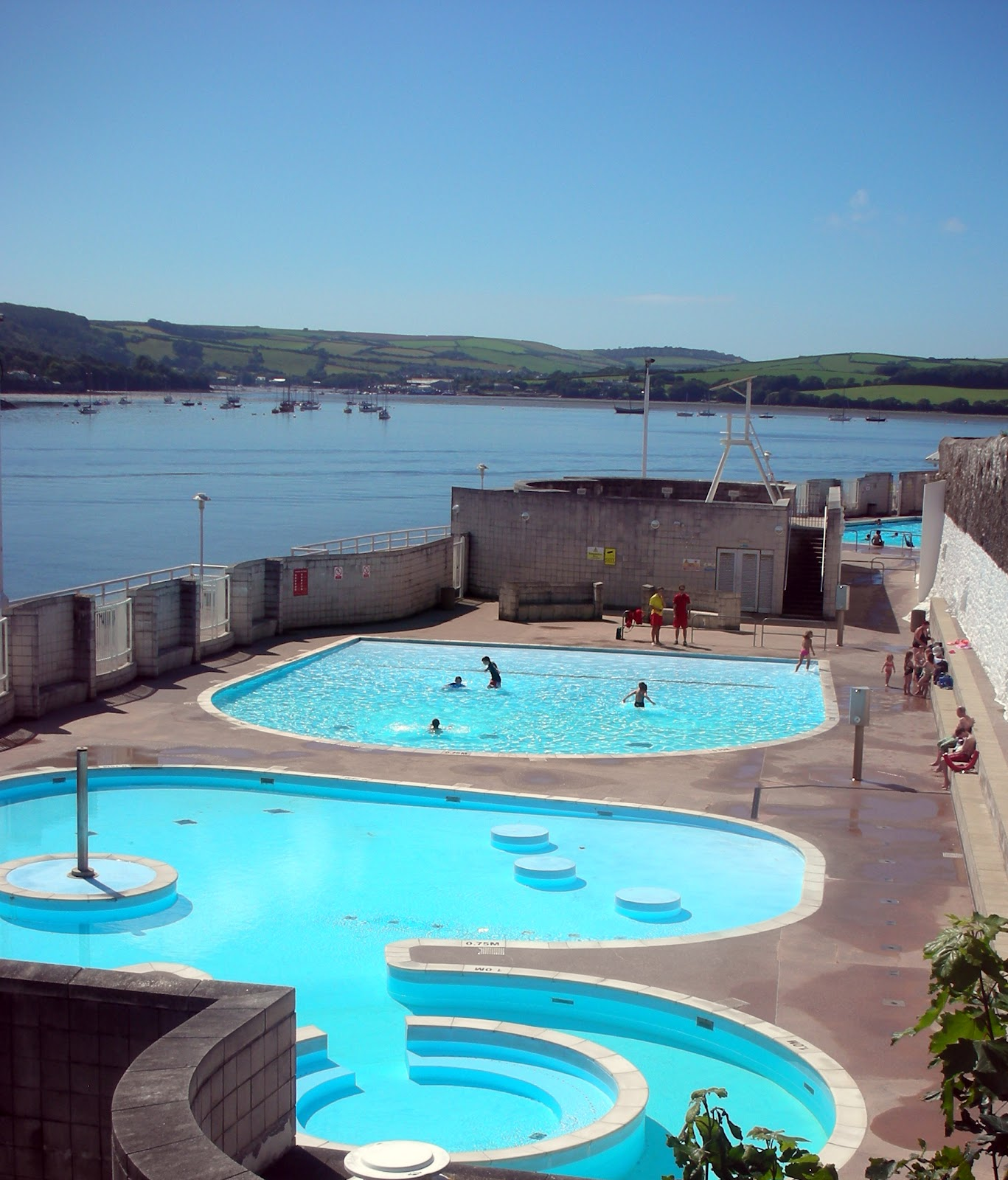 plymouth daily photo the mount wise lido
