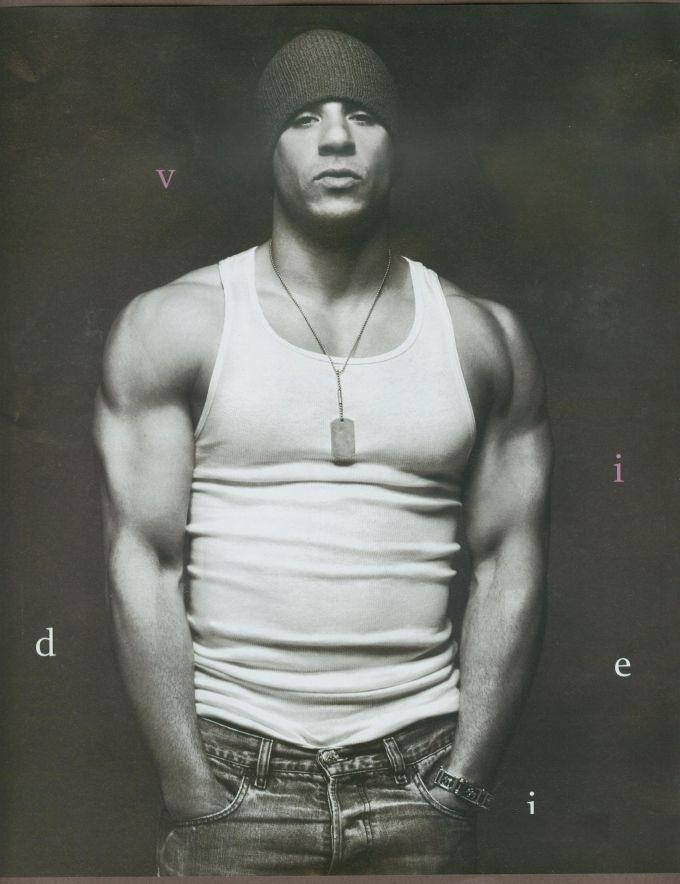Vin Diesel Shirtless B...