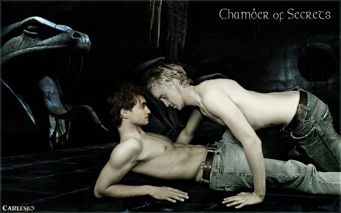 naked draco and hermione
