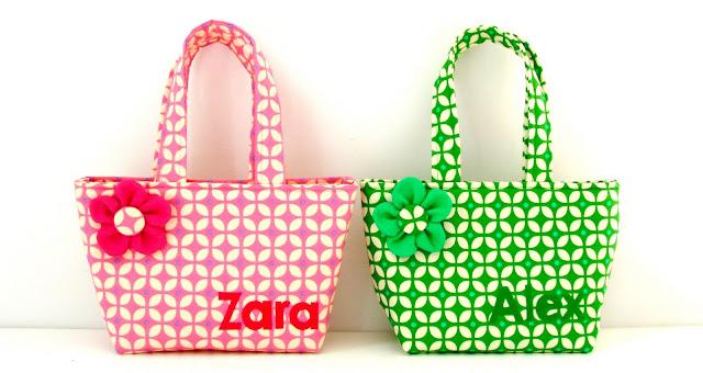 Elisanna twee kleine tasjes voor twee kleine meisjes - Kantoor voor een klein meisje ...