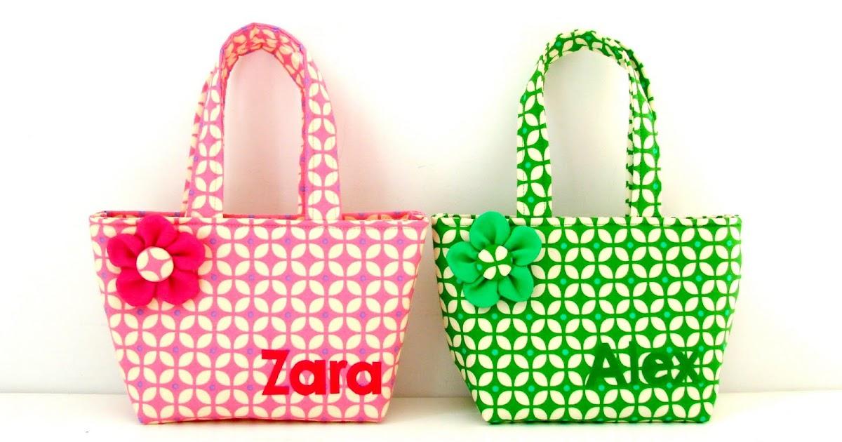 Elisanna twee kleine tasjes voor twee kleine meisjes - Ch amber voor twee ...