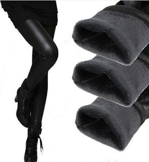 Pantalones de cuero elásticos y con forro interno perfectos para el invierno