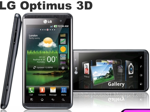 LG Optimus 3D Vs HTC Sensation 4G