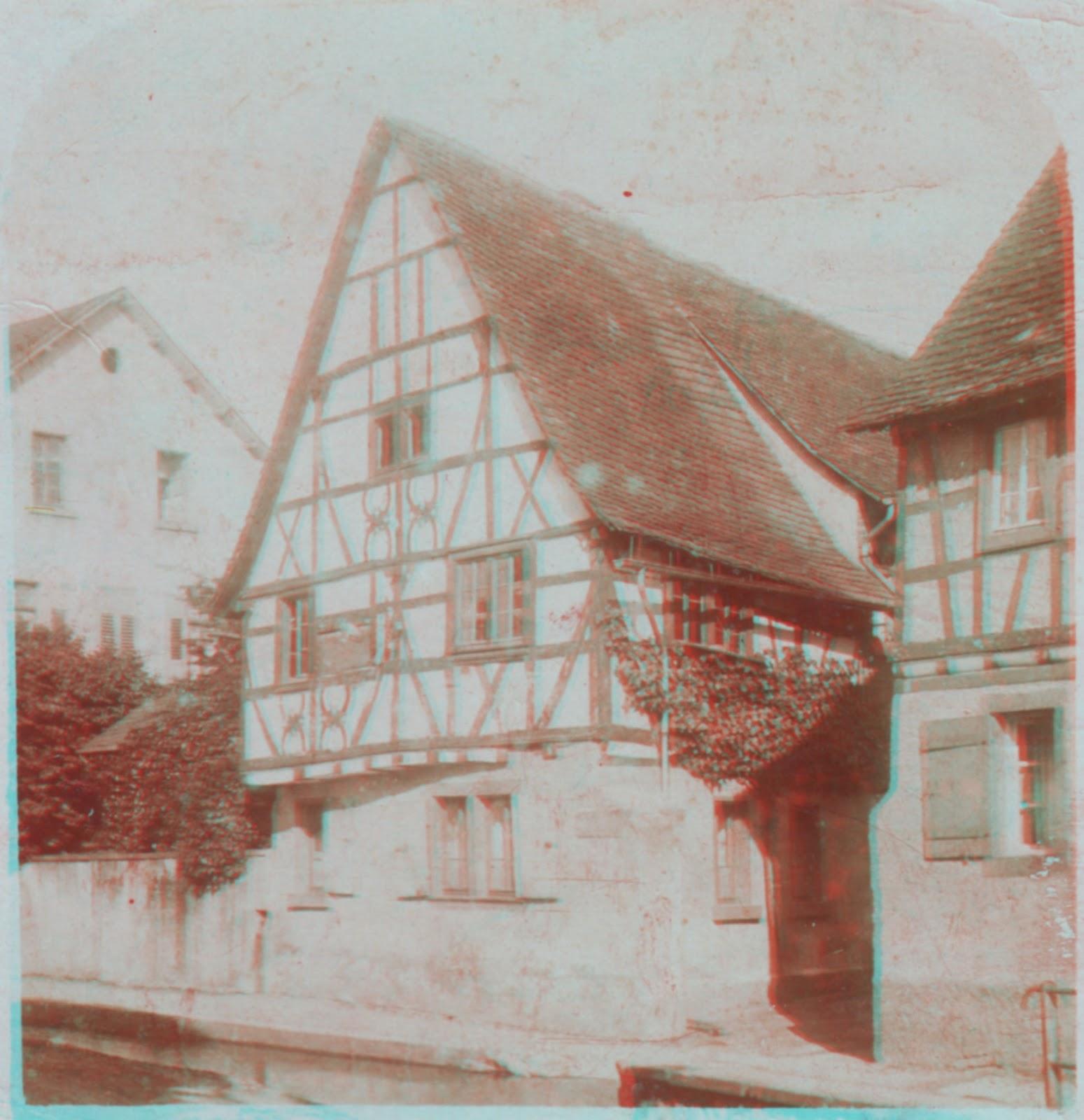 Bensheim In Alten Bildern Alte 3d Fotografie Vermutlich