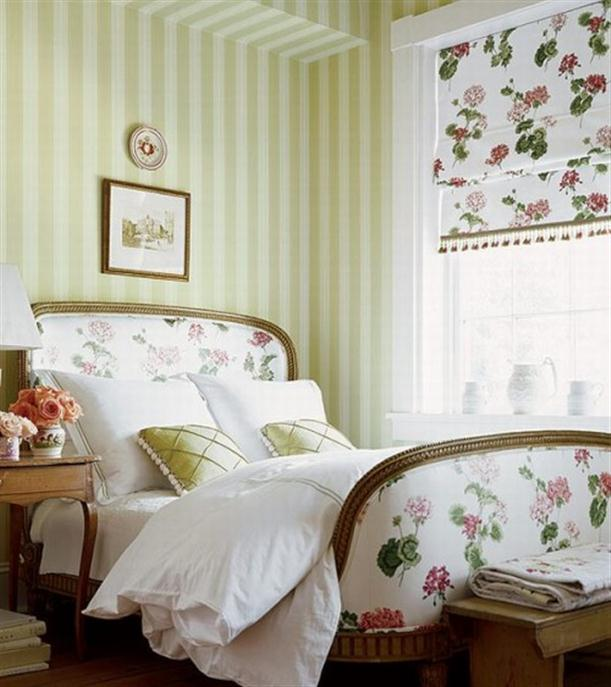 here are some rooms inspired by the french country style - Country Bedroom Ideas Decorating