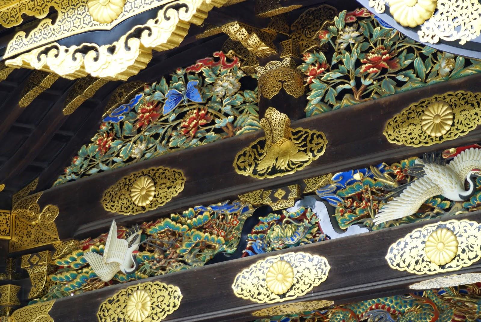 portail de temple japonais