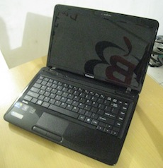 jual laptop 2nd toshiba satellite l640