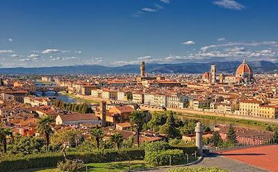 Италия Флоренция и купол Дуомо