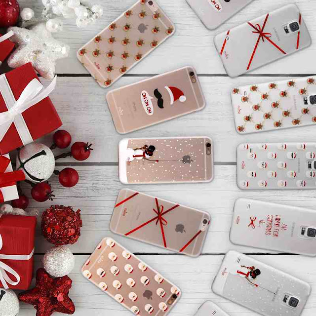 Cover Puro Natalizie Collection Samsung Galaxy S4 S5 iPhone 5 5s 6 6s