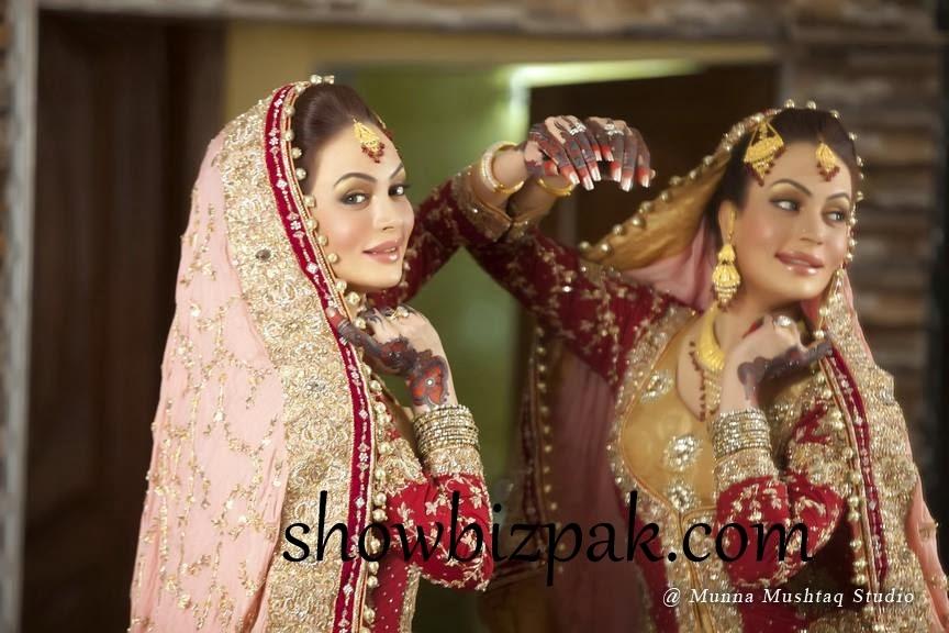 Celebrity Weddings: Sadia Imam Bridal 2013