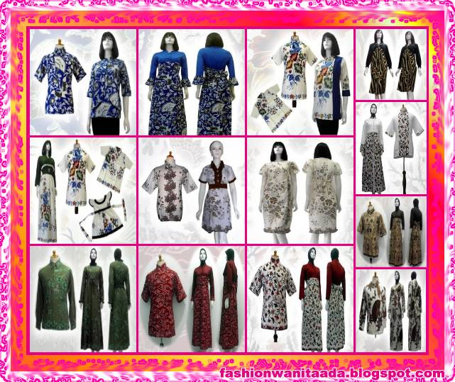 model+baju+batik+modern,+gambar+model+baju+batik,+model+baju+batik